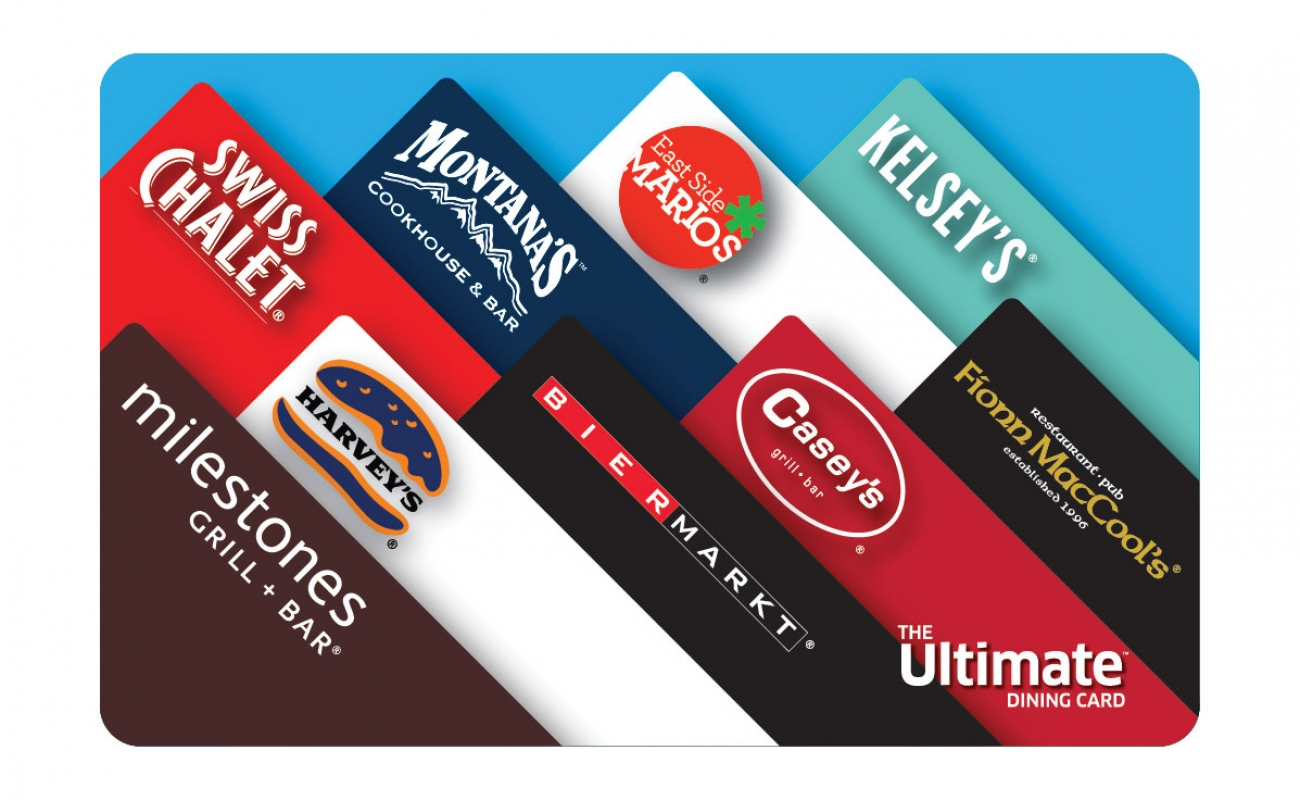 Ultimate Dining Card $100