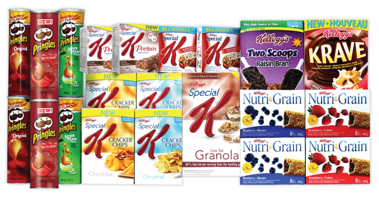 Mix n' Match Brand Kellogg's