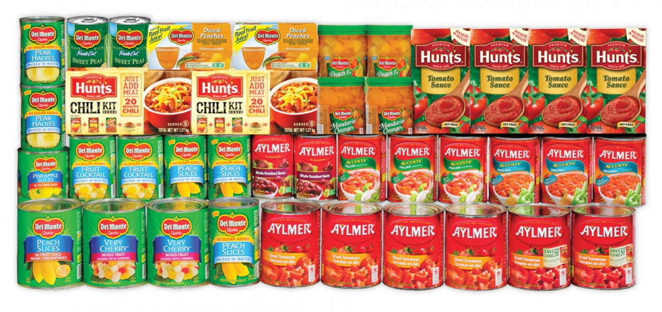 Mix n' Match Del Monte, Aylmer, Hunts