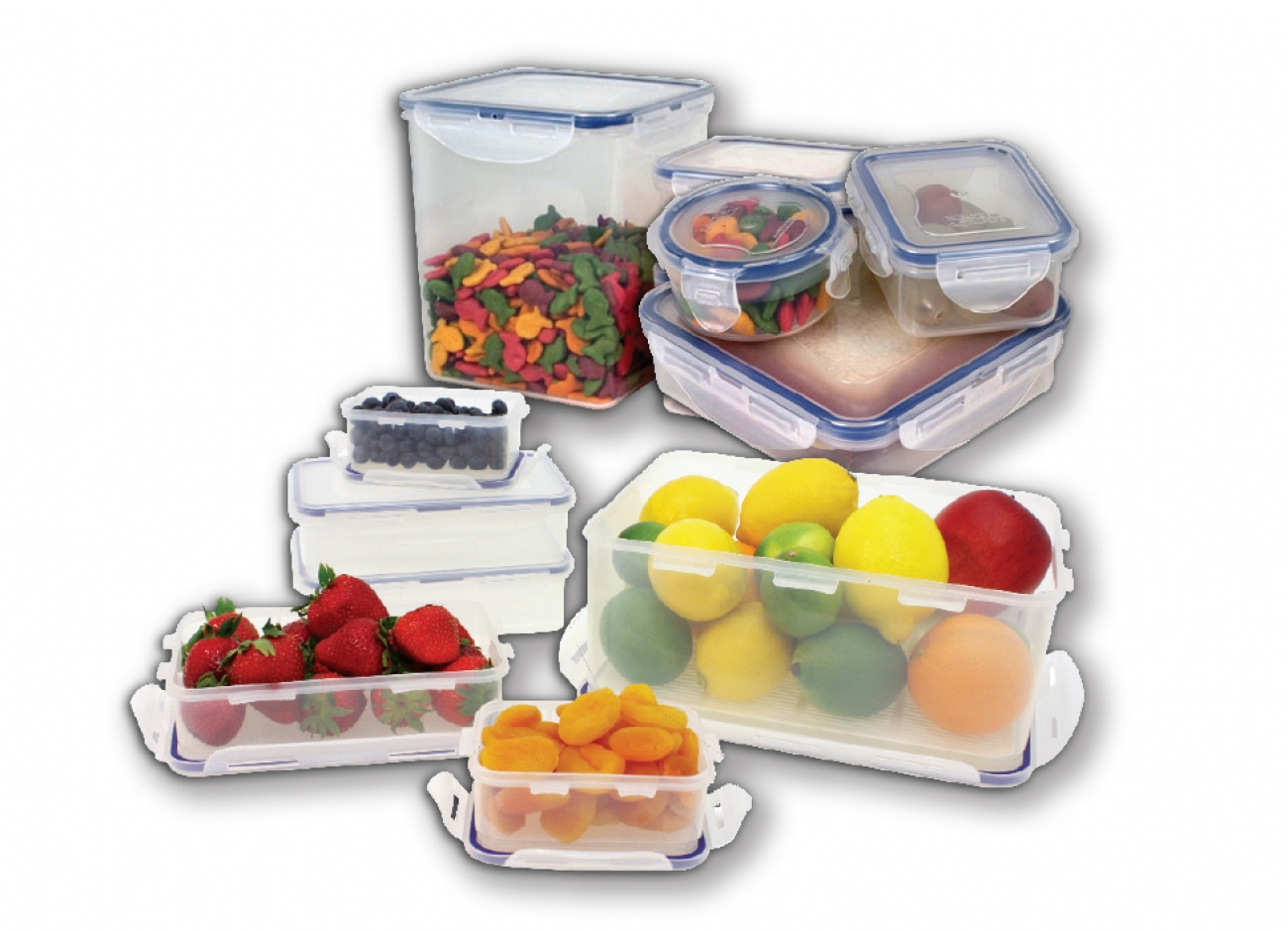 Lock & Lock Storage Solutions 25pc Set