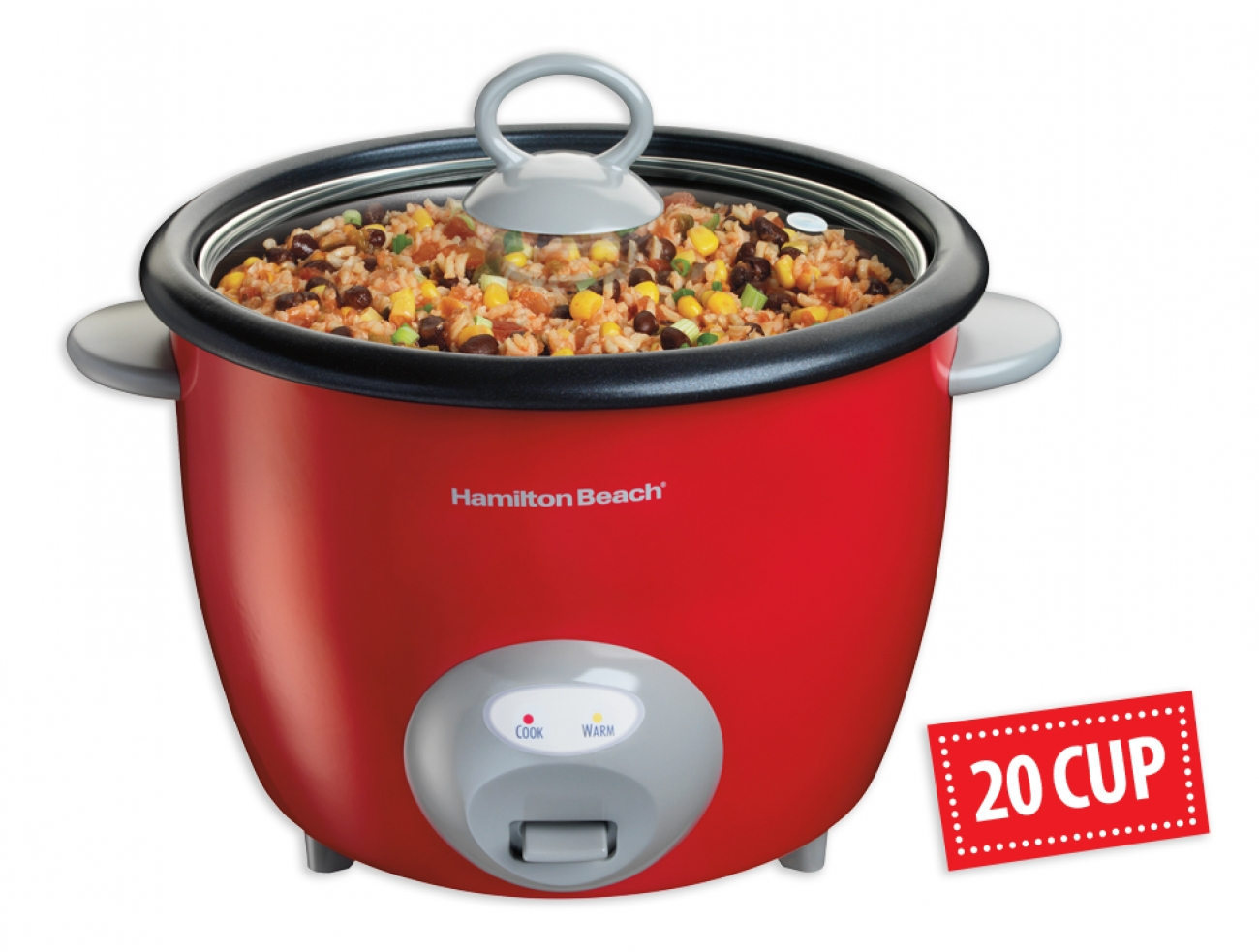 Hamilton Beach 20 Cup Digital Rice Cooker