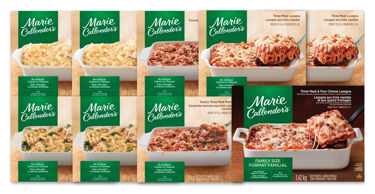 Marie Callender's Family Meals in Minutes