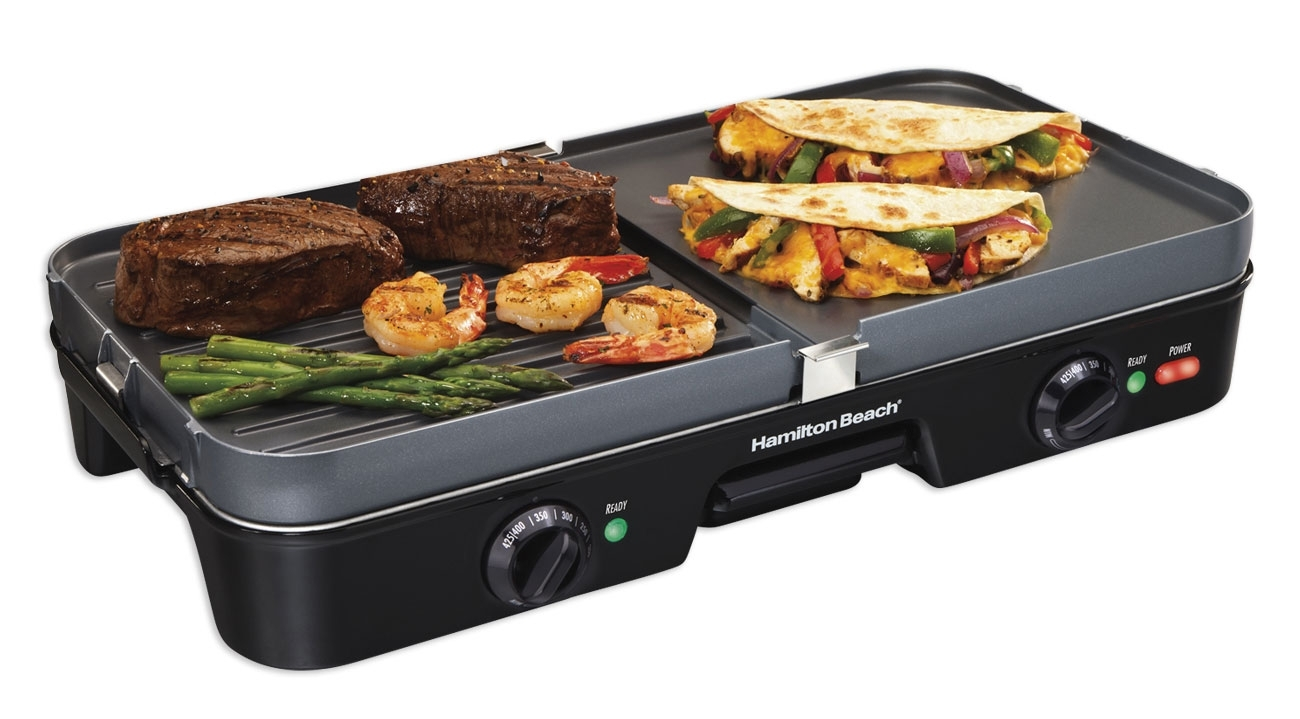 Hamilton Beach 3 in 1 Electric Griddle