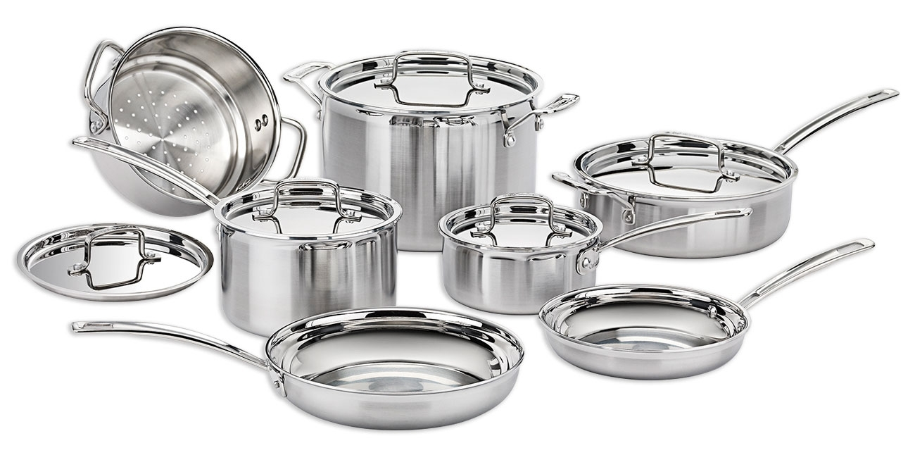 Cuisinart 12 pc MultiClad Pro SS Cookware