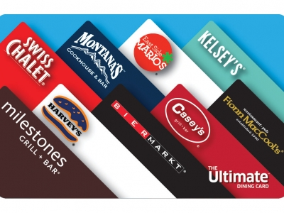 Ultimate Dining Gift Card $100