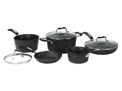 The Rock 8Pc Pot Set