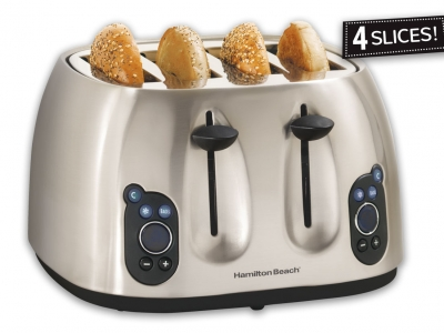 HB Digital 4 Slice Toaster