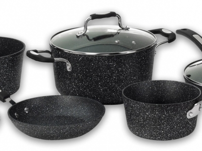Starfrit The Rock 8pc. Pot Set