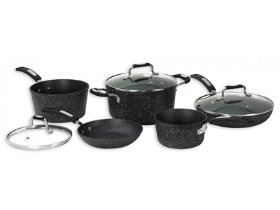 Starfrit 'The ROCK' 8pc Pot Set