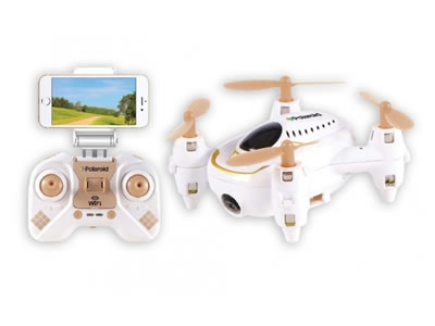 Polaroid Quadcopter Drone with Camera & Controller
