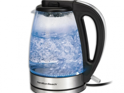 Hamilton Beach 1.7L Glass Kettle