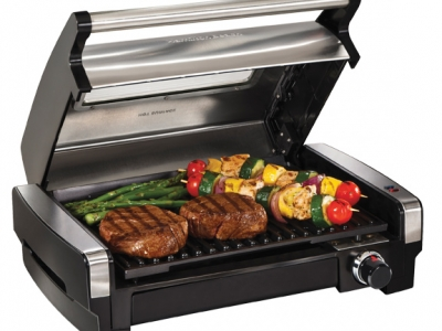 Hamilton Beach Searing Grill with Panini Grill
