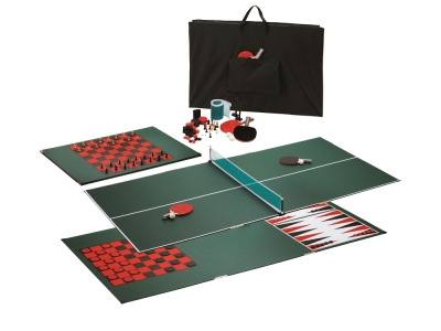 Viper Portable MDF Table Tennis Top - Green