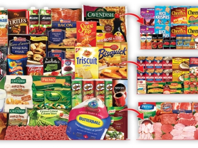 Customer Choice Essentials + Breakfast Pantry+ Dinner Pantry+ Meat Lover