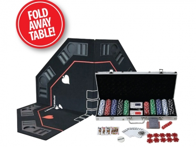 500 pc Poker Set with Table