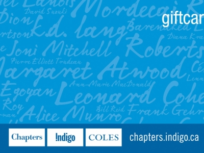 Chapters Gift Card $50
