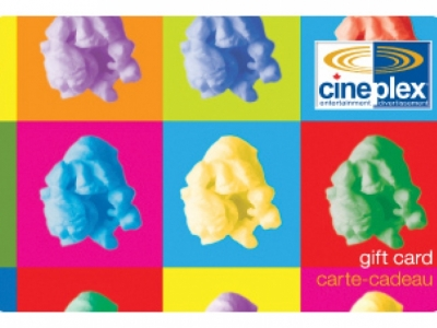 Cineplex Odeon Gift Card $50