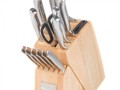 Cuisinart 15pc Vintage SS Knife Block Set