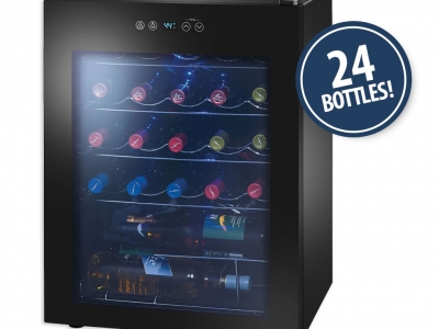 Insignia 2.3 Cu. Ft. 24-Bottle Freestanding Wine Cooler