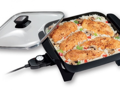 Proctor Silex Square Electric Skillet